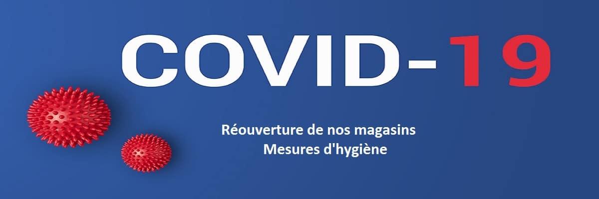 Mesures d'hygiène COVID-19