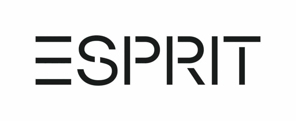 Esprit Logo SS18 Black RGB Lys Vision Opticien